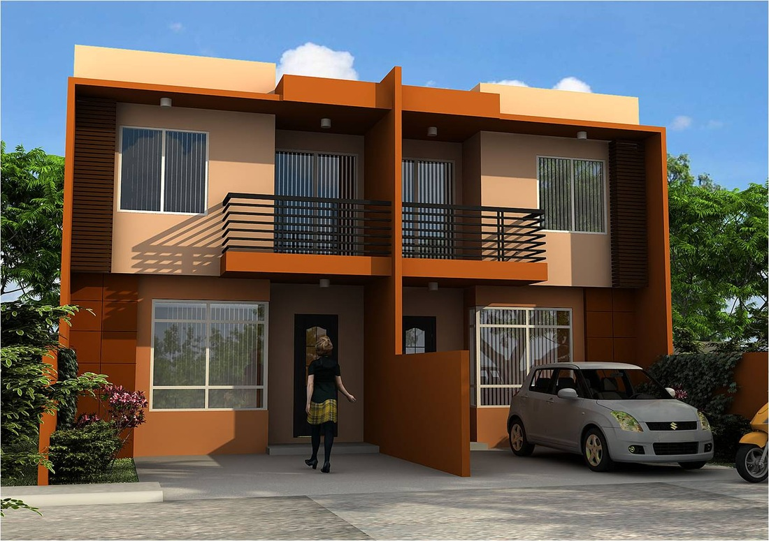 Cherelle homes villa iluminada pajac lapu lapu city for Types of duplex houses